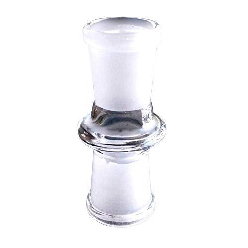 Glas-Adapter weiblich auf 18 mm weiblich gerade für Glas-Hookah Shisha Nargile