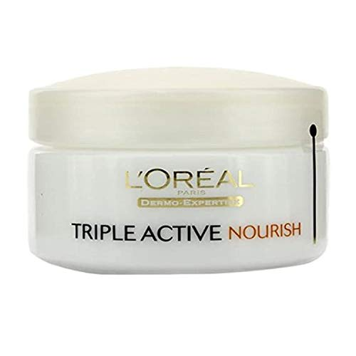 L'Oreal Paris Triple Active Day 24H Nourish Moisturiser for Very Dry Skin 50 ml