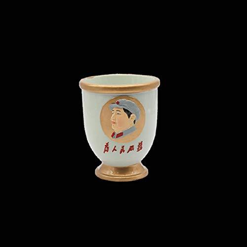 Powzz - Adornos de resina para manualidades con figuras como portalápices, regalos creativos, portalápices de escritorio