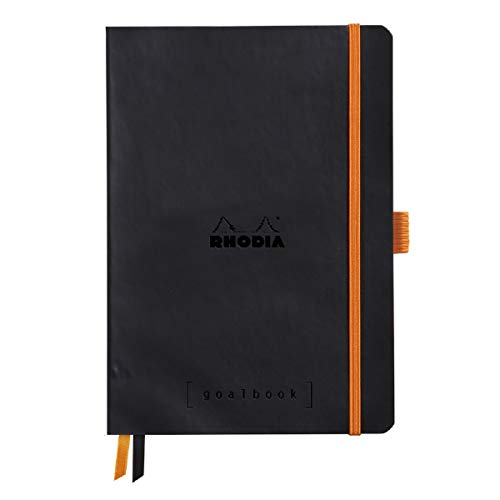 Rhodia Goalbook Journal, A5, Dotted - Black
