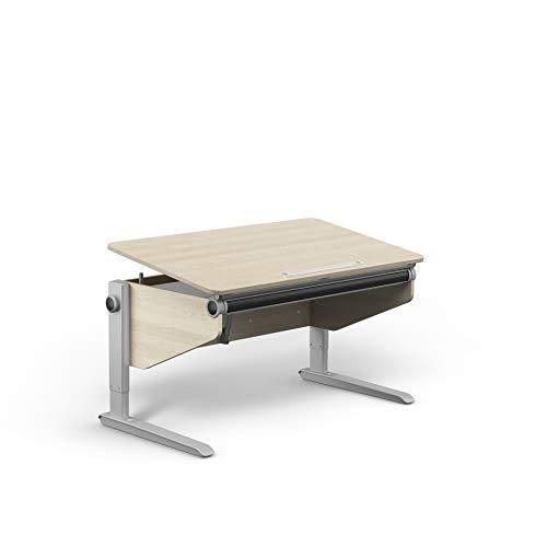 moll Winner Ahorn-Weiß Comfort Kinderschreibtisch, Holz, 120cm × 70cm × 53-82cm