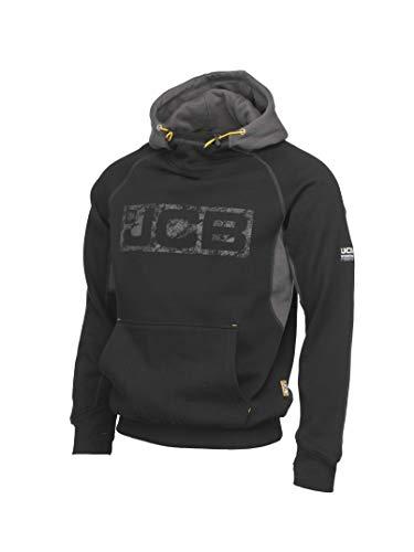 JCB Herren Cheadle Pro Combat Arbeitshose, schwarz/grau, X-Large