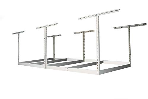 MonsterRax Storage Rack Frame in White