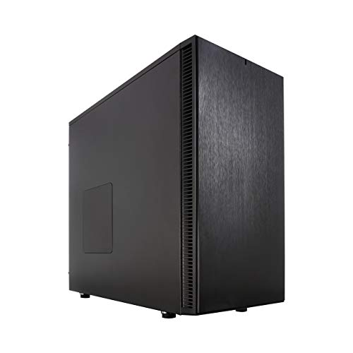 Fractal Design Define S Black, PC Gehäuse (Midi Tower) Case Modding für (High End) Gaming PC, schwarz