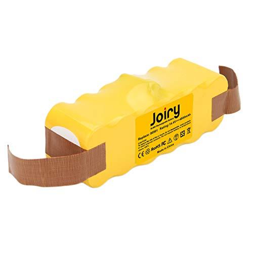 Joiry 14.4V 4.8Ah Ni-MH Batería para iRobot Roomba 500 600 700 800 Series 510 530 532 534 535 540 550 610 700 760 770 780 800 900 980 560 562 570 580 600 R3 Robotic Vaccums Compatible Con 80501