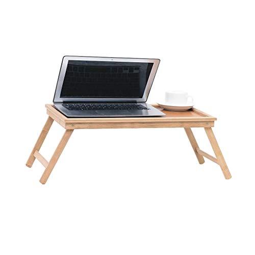 MLMHLMR Ordenador portátil Cama Mesa de Escritorio Plegable de bambú Bandeja de Desayuno Servicio de Atención al Paciente Sofá niños Mesa Plegable