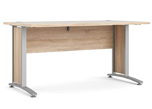 Schreibtisch Silbergrau