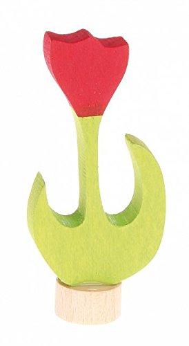 Grimms Spiel Und Holz Design Grimm's Stecker Tulpe rot