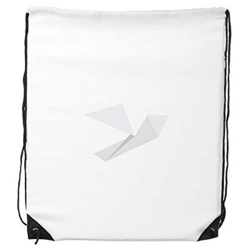 DIYthinker Patrón de Origami Resumen White Pigeon morral del Lazo de Compras Deportes Bolsas de Regalo