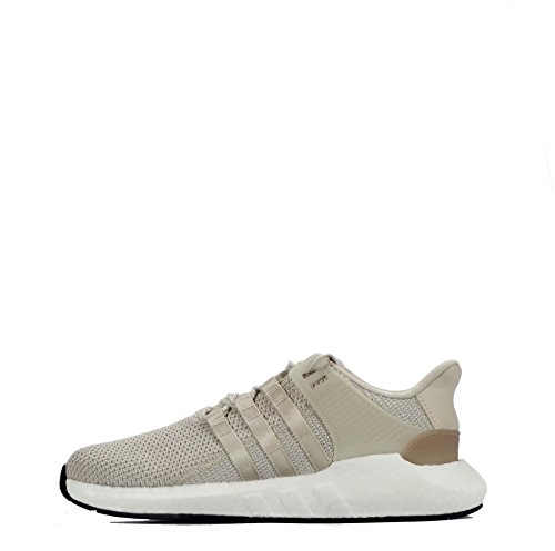 adidas EQT Support 93/17 Boost Herren Running Trainers Sneakers (UK 9 US 9.5 EU 43 1/3, Brown White beige DB0332)