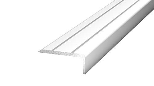 Winkelprofil 24,5 x 10 mm - 1,00m - selbstklebend - Silber