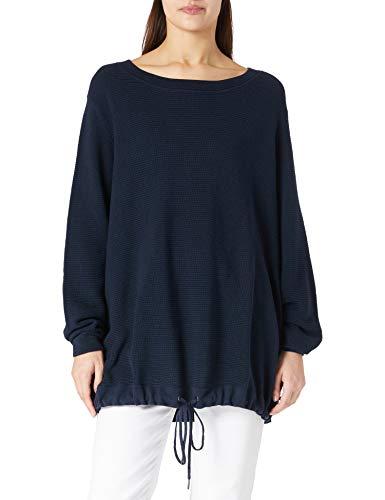 ESPRIT Damen 011EE1I335 Pullover, 400/NAVY, 52