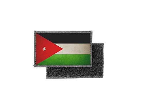 Vlag patch bedrukte badge land vintage Jordanië jordania