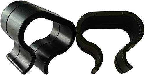 HTTH Gartenmöbel Verbinder 12 Stück, Outdoor Patio Möbel Sets Sofa Befestigungselemente Clip Sectional Connector Alignment Befestigungselemente für Sofa (Schwarz)