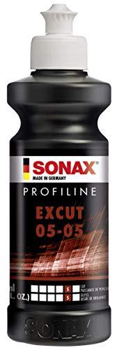 SONAX PROFILINE ExCut 05-05 (250 ml) pasta abrasiva rimuove strati di vernice graffiati o localmente corrosi.Elimina incisioni causate da resina, insetti, etc   Art. N. 02451410