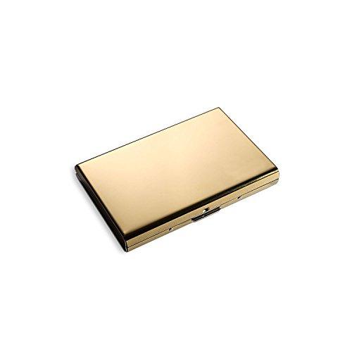MOSANY | Kreditkartenetui mit Multitool-Card | aus hochwertigem Edelstahl | für bis zu 6 Karten | RFID & NFC Schutz | Damen & Herren