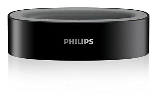 Philips SSA5CS/10 Ladestation für Audioboost TV Kopfhörer (SSC5001/SSC5002) schwarz