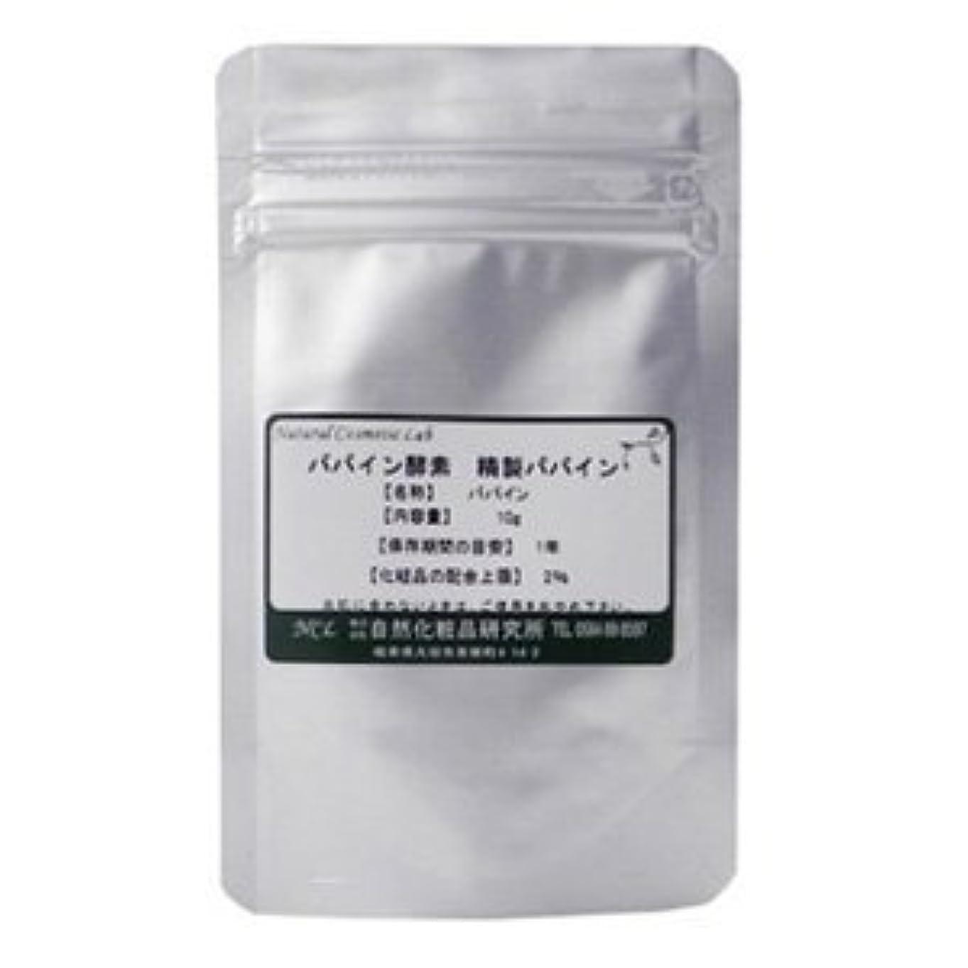 独立して上回る気まぐれなパパイン酵素 精製パパイン 10g 【手作り化粧品原料】