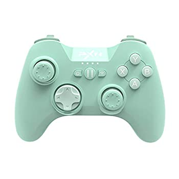 Bluetooth Mobile Gaming Controller for iPhone PXN 6603 Speedy MFi Wireless Game Controller for iOS Apple TV iPod iPad Green