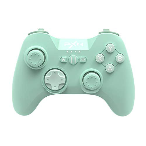 Bluetooth Mobile Gaming Controller for iPhone, PXN 6603 Speedy MFi Wireless Game Controller for iOS, Apple TV, iPod, iPad(Green)