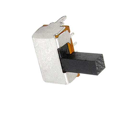 Aexit 10 Pcs Networking Products 2 Position DPDT Miniature Slide Switch 6 Pin PCB Switches Right Angle