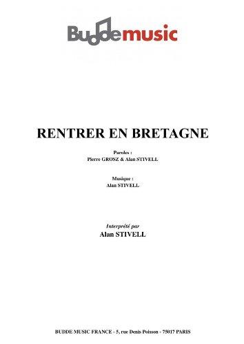 RENTRER EN BRETAGNE
