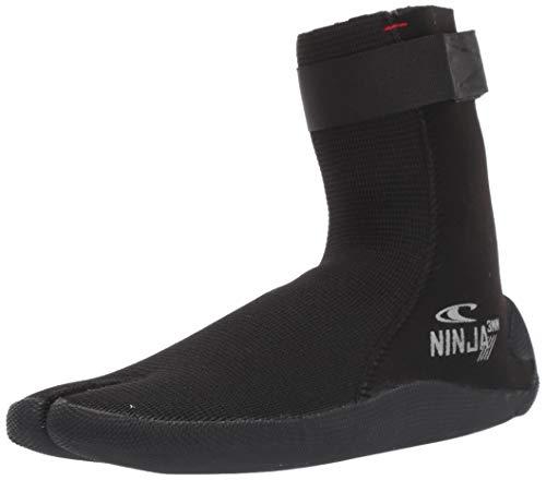 O'Neill Ninja 3mm Booties, Black, 5