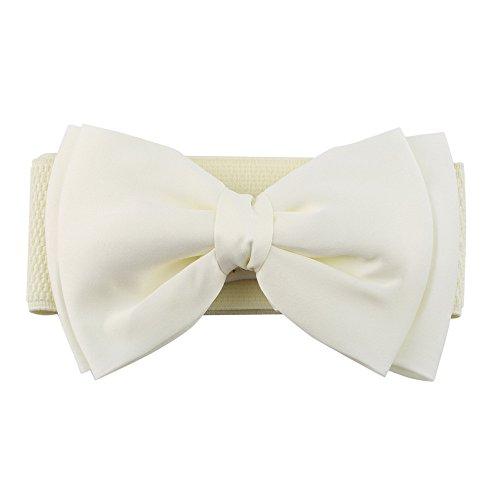 ECYC Femelle bride à bretelles larges pour femme boucle à bretelles taille élastique ceinture taille ceinture