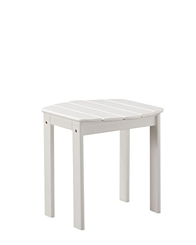 Linon Adirondack, White End Table