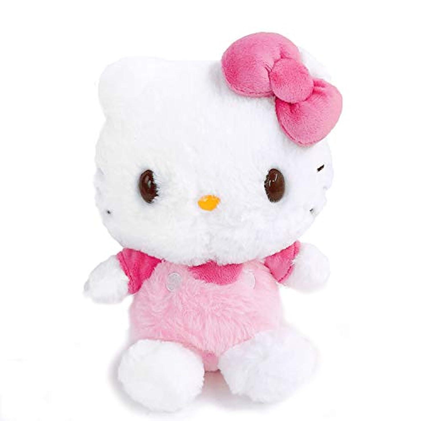 動脈噛む大宇宙ナカジマコーポレーション(Nakajimacorp) ほわほわ ハローキティ S ピンク 19.5cm×16.5cm×11cm Sanrio Hello Kitty ぬいぐるみ 143037-20