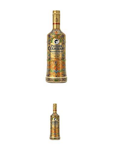Russian Standard SPECIAL EDITION - GOLD - Vodka 0,70 Liter + Russian Standard SPECIAL EDITION - GOLD - Vodka 0,70 Liter