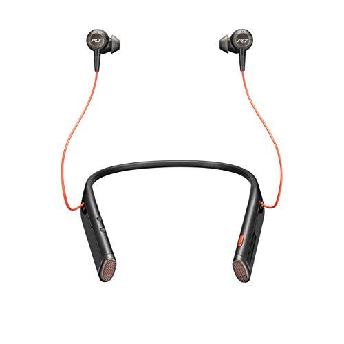 Plantronics Voyager 6200 UC Dentro de oído, Banda para Cuello Binaural Inalámbrico...