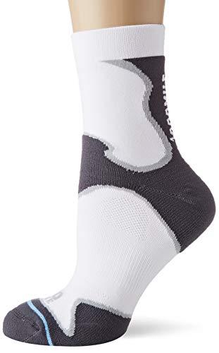 1000 Mile Fusion Chaussettes de course à pied pour homme XL blanc/gris
