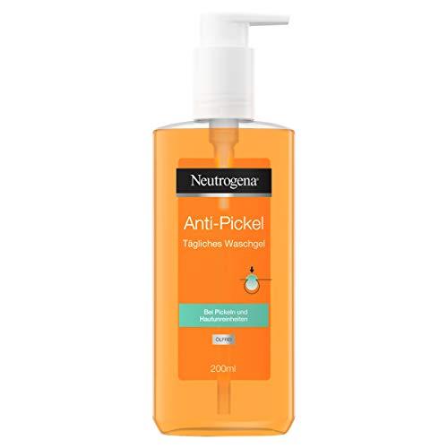 Neutrogena Anti-Pickel Tägliches Waschgel, Mit klärender Salicylsäure, Bei Pickeln und Hautunreinheiten, 200 ml