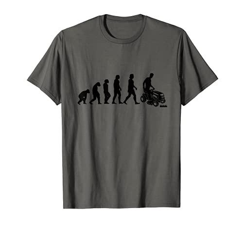 Rasentraktor Evolution Aufsitzmäher Rasenmäher T-Shirt