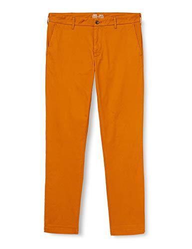 IZOD Saltwater Chino Pantalons Homme -Orange (pumpkin Spice) - 32W x 33L