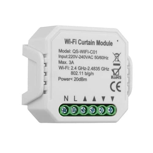 IT STORE - Interruptor de persianas enrollables Alexa, interruptor de persianas con wifi compatible con Alexa/Google Home Temporizador para persianas enrollables