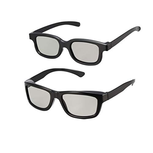 N/A 3D Glasses Set für Movies/Cinema/Passive 3D TV 1 x kompatibel mit Reald Cinema und 1 x kompatibel mit I-Max