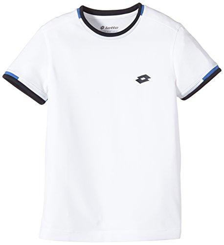 Lotto T-Shirt AYDEX B, Jungen, Gr. XS jr (US), white/cruise