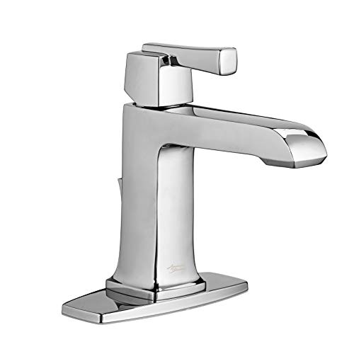 American Standard 7353101.002 Townsend Single-Handle Single-Hole Bathroom Faucet with Speed Connect Drain In Polished Chrome