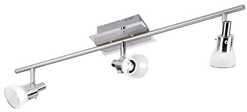 LED plafondspots gang woonkamer plafondlamp vloerlamp (plafondlamp, 3 lampen, keukenlamp, 72 cm, 3 x 5 Watt, warmwit)