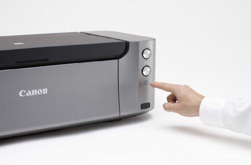 Canon Pixma Pro-100Profesional Foto Impresora de inyección–Bundle–con SG-201Papel fotográfico Plus Semi Brillante 13x 19'50Hojas
