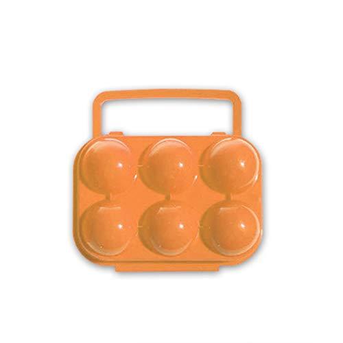 Doble Cerrojo de Huevos Cajas PP Huevos Titular Cajas de Almacenamiento para Camping