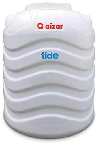 Aizar Pipes and Fittings 3 Layer Protection BPA-free Water Tank (500 L, White)