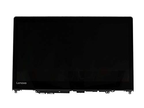 Lenovo Unidad de Pantalla tactil 14.0 Pulgadas (FHD 1920x1080) Negra Original para la série Yoga 510-14IKB (80VB)
