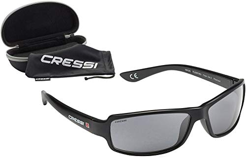 Cressi Ninja Floating, Black/Black, Dark Lens