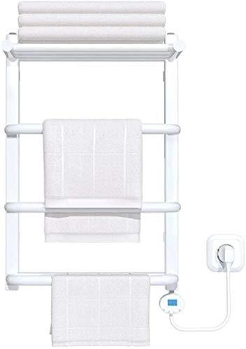 Radiadores de baño Calentadores de toallas eléctricas, impermeable Inteligente Temperatura constante de humedad A prueba de humedad Deshumidificación Toalla de secado Secado Toallero adecuado para cua