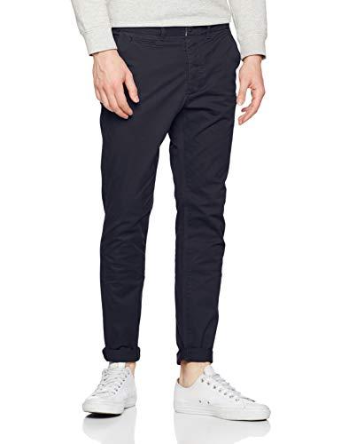 JACK & JONES Jjimarco Jjenzo Navy WW 420 Noos Pantalones, Azul Blazer, W33/L30 (Talla del Fabricante: 33) para Hombre