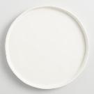 Ivory Organic Rimmed Dinner Plates, Set of 6 | World Market