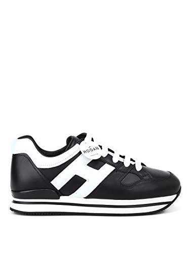 Hogan Sneakers Donna Hxw2220t548hqk0002 Pelle Nero